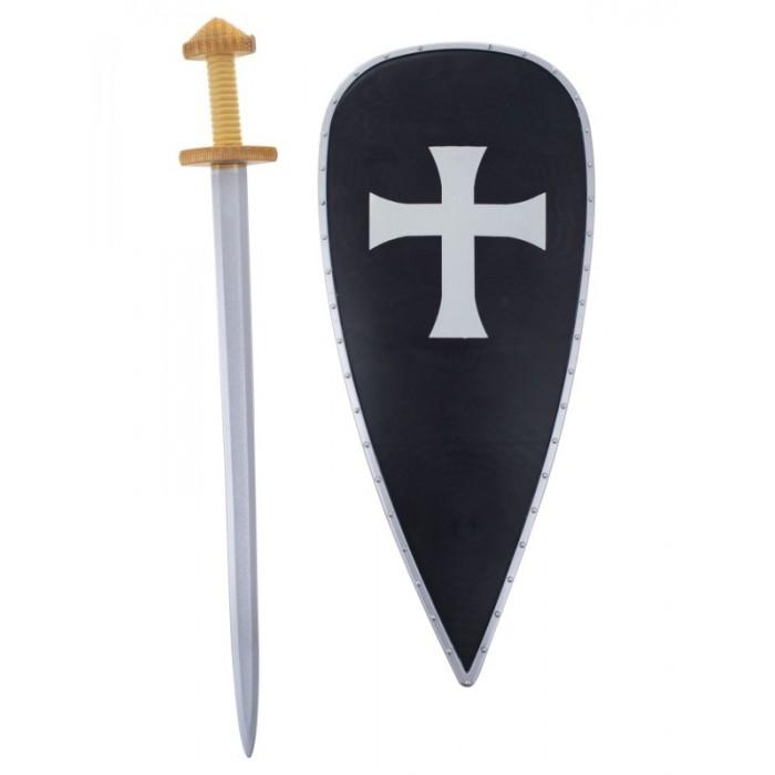 Sada rytíř - velký štít a meč
