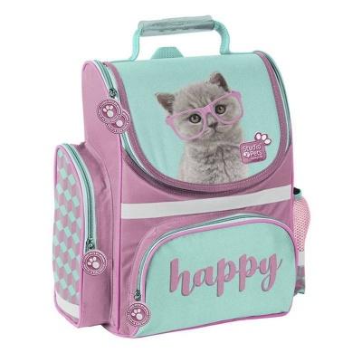Školní batoh aktovka i pro prvňáčky Kočka Happy