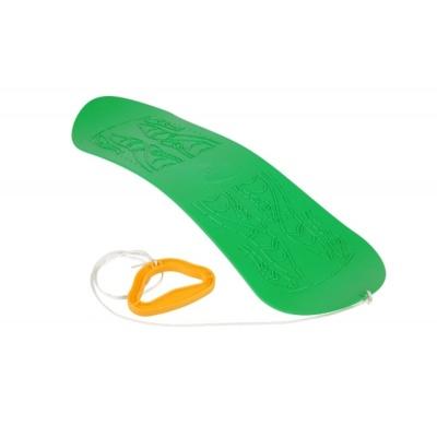 Dětský snowboard SKYBOARD - zelená plastová kluzka