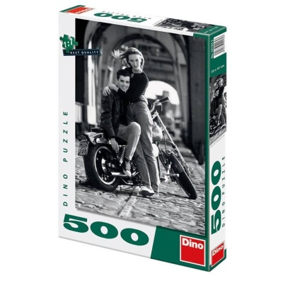 Puzzle DINO Zamilovaní 500 dílků