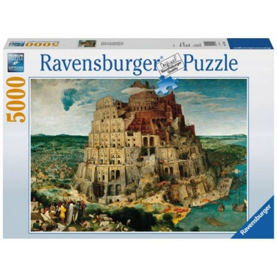 Puzzle Ravensburger Babylonská věž 5000 dílků