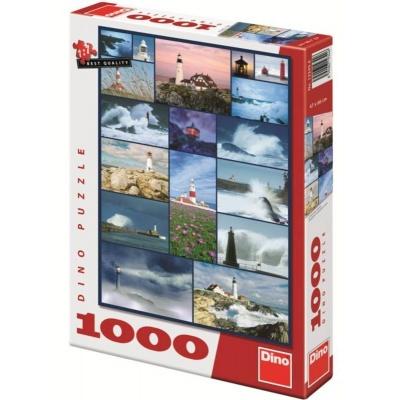 Puzzle DINO Majáky - 1000 dílků