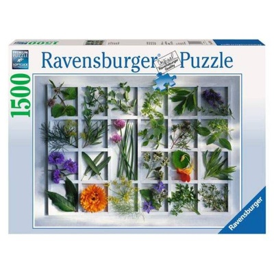 Puzzle Ravensburger Bylinky 1500 dílků