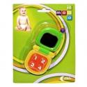 Dětské chrastítko - vyklápěcí telefon