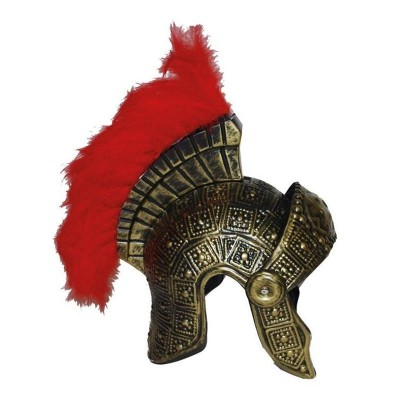 Římská helma s chocholem dospělá velikost