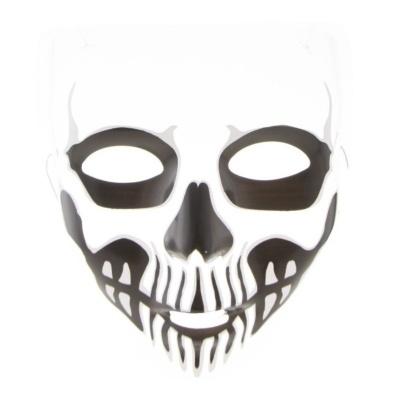 Průhledná maska Lebka