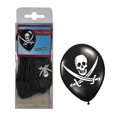 Balónky piráti 12ks
