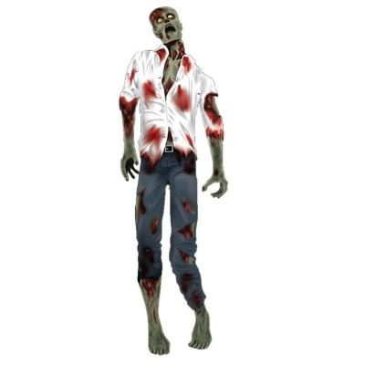 Horor dekorace zombie 150cm
