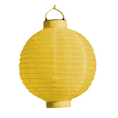 Lampion s LED diodou 20cm žlutý