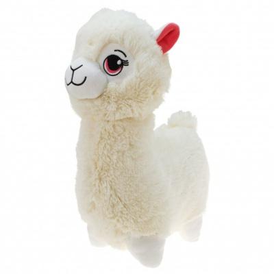 Plyšová Lama bílá velká 35cm
