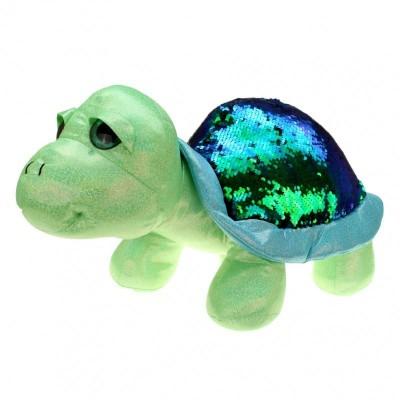 Želva s flitry zelená 30cm
