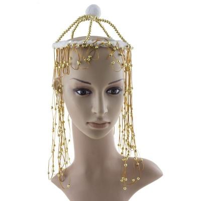Korálky do vlasů - zlaté nebo stříbrné