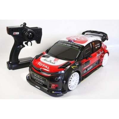 RC model Citroen C3 WRC 4WD 2,4GHZ 1:10 auto na dálkové ovládání