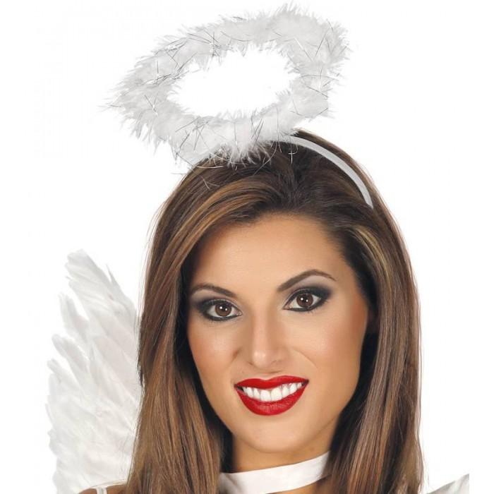 Svatozář anděl - bílé peří