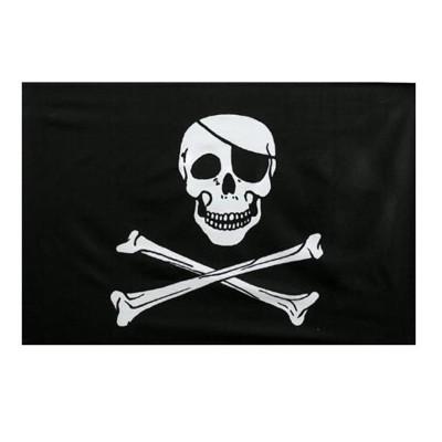 Velká pirátská vlajka 150 x 90 cm