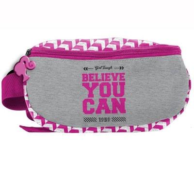 Ledvinka pouzdro na pas Barbie Believe růžový
