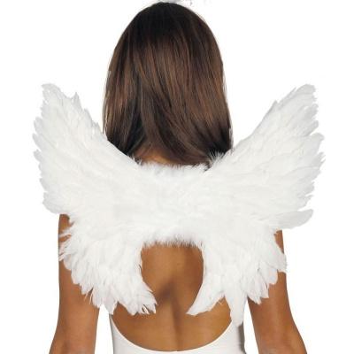 Andělská křídla bílá - 50x45cm