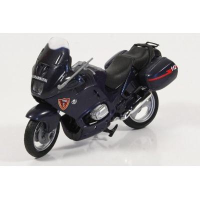 Motorka BMW italská Policie Carabinieri model Mondo Motors 1:18
