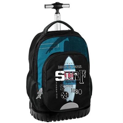 Cestovní batoh na kolečkách s vysouvací rukojetí Maui and Sons Surf