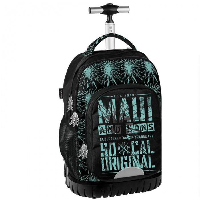 Cestovní batoh na kolečkách s vysouvací rukojetí Maui and Sons Sharks