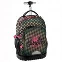 Cestovní batoh na kolečkách s vysouvací rukojetí Barbie Points