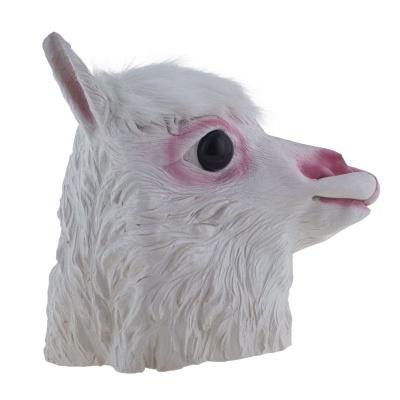 Gumová maska Lama