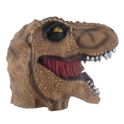 Gumová maska Dinosaurus