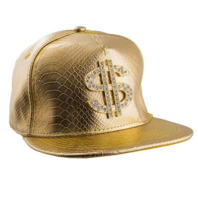 Zlatá čepice rapper dolar