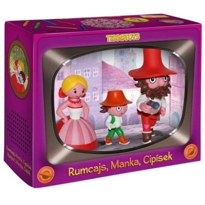 Figurka Rumcajs, Manka a Cipísek