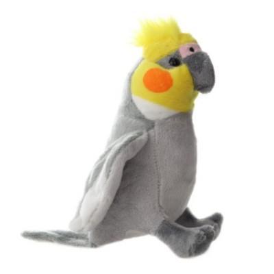 Plyšový Papoušek Korela Chocholatá