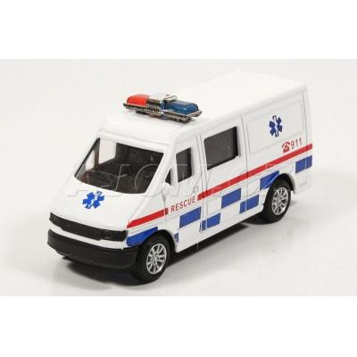 Kovová dodávka Ambulance