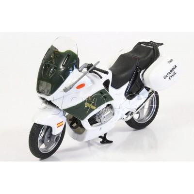 Motorka BMW španělská Policie Guardia Civil model Mondo Motors 1:18