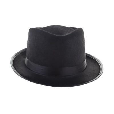 Klobouk mafián - černý