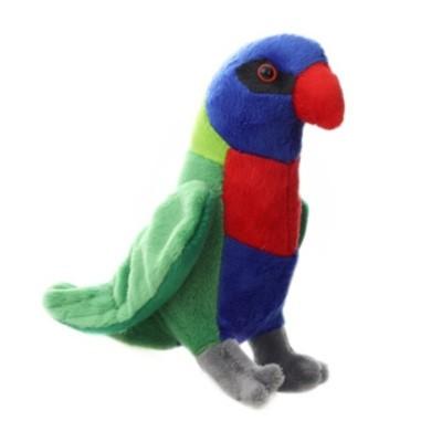 Plyšový Papoušek Lori mnohobarvý