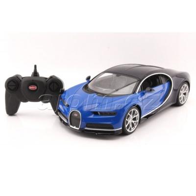 RC model Bugatti Chiron modré auto na dálkové ovládání 1:14
