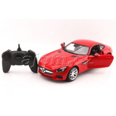 RC model Mercedes AMG GT červené auto na dálkové ovládání 1:14
