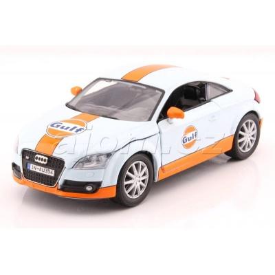 Audi TT Coupe Gulf Series kovový model auta MotorMax 1:24