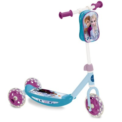 Dětská koloběžka tříkolka s kapsou Frozen 2 Ledové království