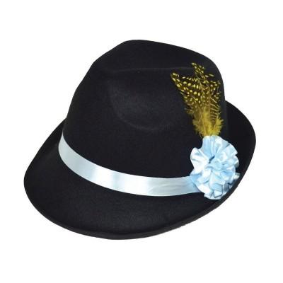 Tyrolský klobouk s peřím