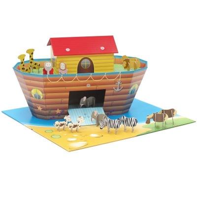 Krooom Noemova archa se zvířátky EKO výrobek