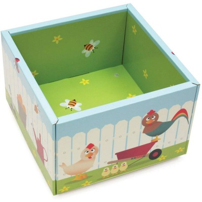 Krooom Krabice na hračky na kolečkách EKO výrobek