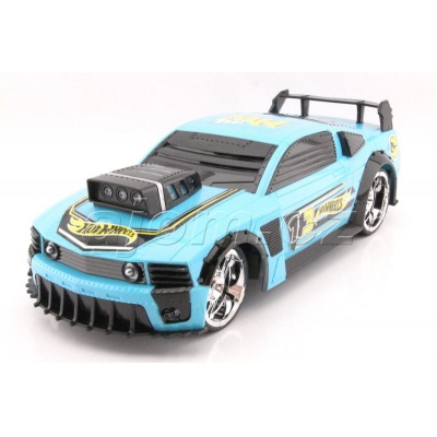 Hot Wheels Turbo Tuning světle modrý