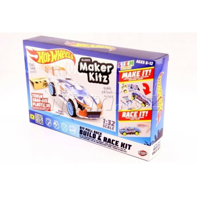 Hot Wheels auto skládačka Mach Speeder Bladez Maker Kitz