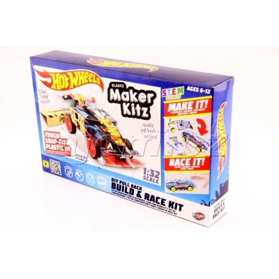Hot Wheels auto skládačka Winning Formula Black Bladez Maker Kitz