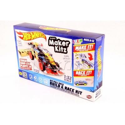 Hot Wheels auto skládačka Winning Formula Black Bladez Maker Kitz