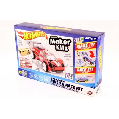 Hot Wheels auto skládačka Super Blitzen Bladez Maker Kitz