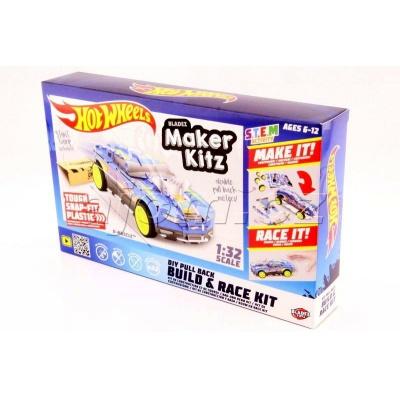 Hot Wheels auto skládačka D-Muscle Bladez Maker Kitz