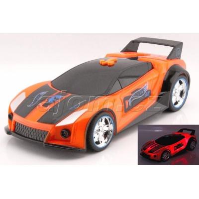 Hot Wheels Spark Racer Quick N´Sik jízda, světlo a zvuk
