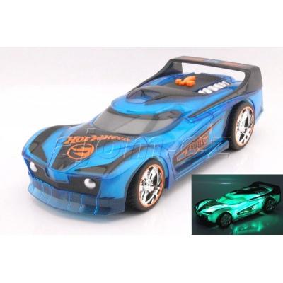 Hot Wheels Spark Racer Spin King jízda, světlo a zvuk