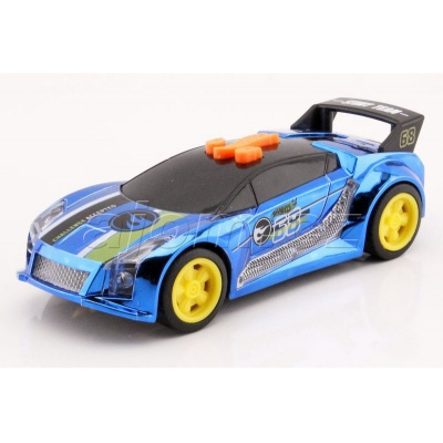 Hot Wheels Blazing Cruisers Quick N´Sik Blue světlo a zvuk